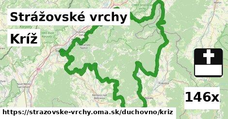 ilustračný obrázok k Kríž, Strážovské vrchy