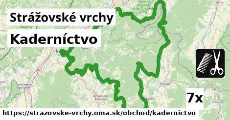 ilustračný obrázok k Kaderníctvo, Strážovské vrchy
