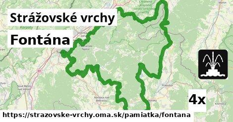 ilustračný obrázok k Fontána, Strážovské vrchy