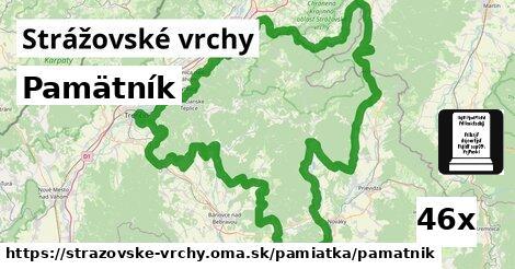 ilustračný obrázok k Pamätník, Strážovské vrchy