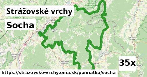 ilustračný obrázok k Socha, Strážovské vrchy