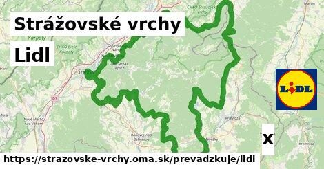 ilustračný obrázok k Lidl, Strážovské vrchy