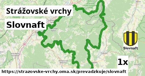 ilustračný obrázok k Slovnaft, Strážovské vrchy