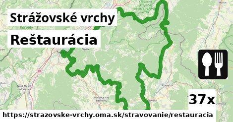 ilustračný obrázok k Reštaurácia, Strážovské vrchy