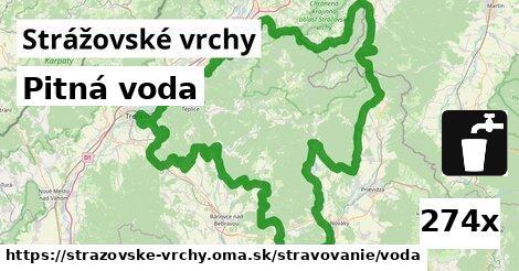 ilustračný obrázok k Pitná voda, Strážovské vrchy