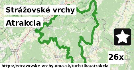 ilustračný obrázok k Atrakcia, Strážovské vrchy