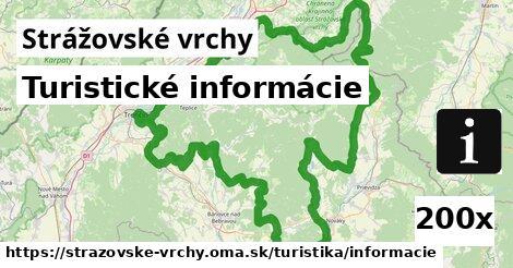 ilustračný obrázok k Turistické informácie, Strážovské vrchy