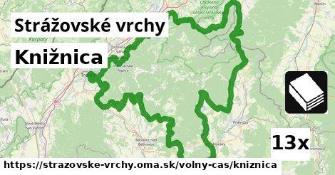 ilustračný obrázok k Knižnica, Strážovské vrchy