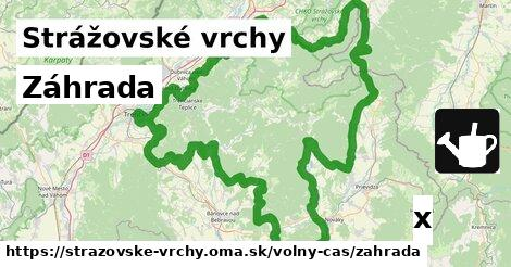 ilustračný obrázok k Záhrada, Strážovské vrchy