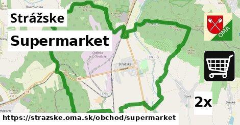 Supermarket, Strážske