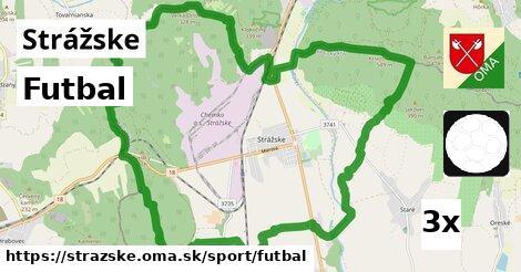 Futbal, Strážske
