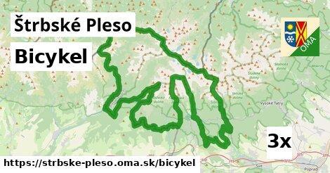 bicykel v Štrbské Pleso