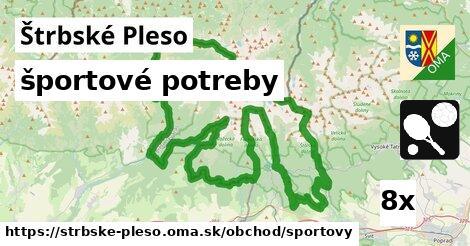 športové potreby v Štrbské Pleso