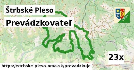 prevádzkovateľ v Štrbské Pleso