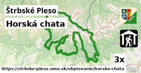 horská chata v Štrbské Pleso