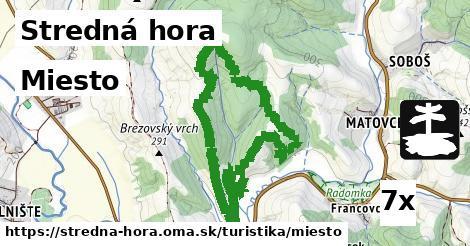 ilustračný obrázok k Miesto, Stredná hora