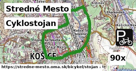 ilustračný obrázok k Cyklostojan, Stredné Mesto