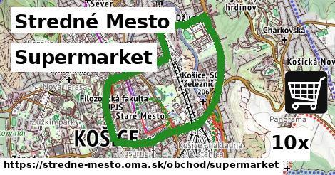 ilustračný obrázok k Supermarket, Stredné Mesto