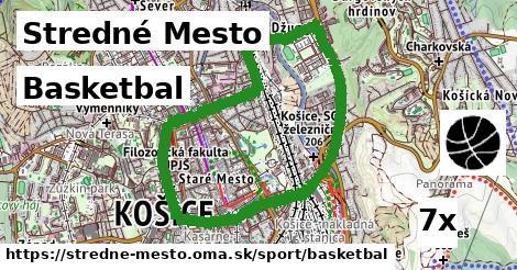 ilustračný obrázok k Basketbal, Stredné Mesto