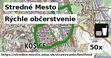 ilustračný obrázok k Rýchle občerstvenie, Stredné Mesto