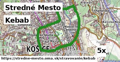 ilustračný obrázok k Kebab, Stredné Mesto