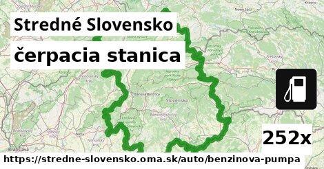 čerpacia stanica v Stredné Slovensko