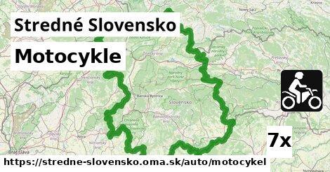 ilustračný obrázok k Motocykle, Stredné Slovensko