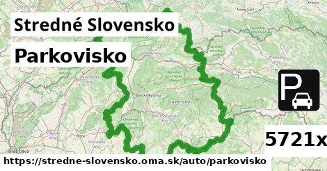 ilustračný obrázok k Parkovisko, Stredné Slovensko