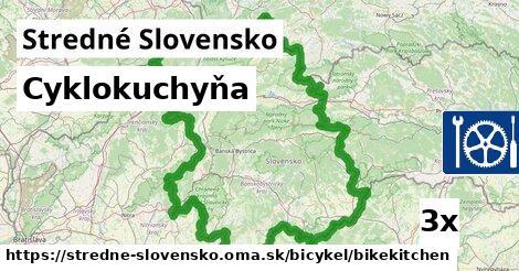 ilustračný obrázok k Cyklokuchyňa, Stredné Slovensko