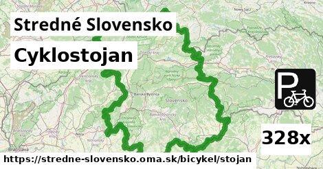 ilustračný obrázok k Cyklostojan, Stredné Slovensko