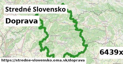 doprava v Stredné Slovensko