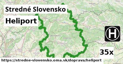 heliport v Stredné Slovensko