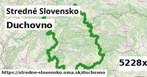 duchovno v Stredné Slovensko