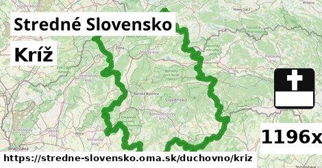 ilustračný obrázok k Kríž, Stredné Slovensko