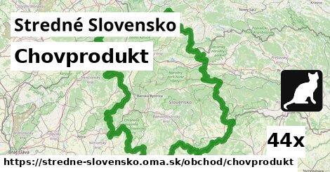 chovprodukt v Stredné Slovensko