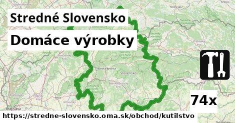 domáce výrobky v Stredné Slovensko