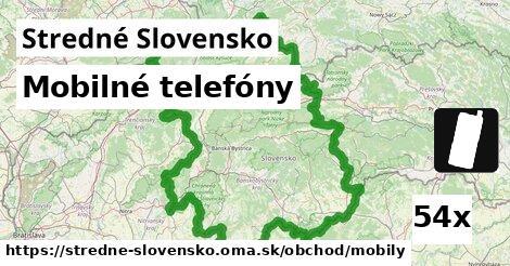 mobilné telefóny v Stredné Slovensko