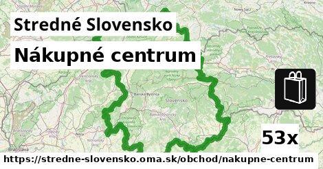 ilustračný obrázok k Nákupné centrum, Stredné Slovensko