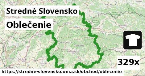 ilustračný obrázok k Oblečenie, Stredné Slovensko