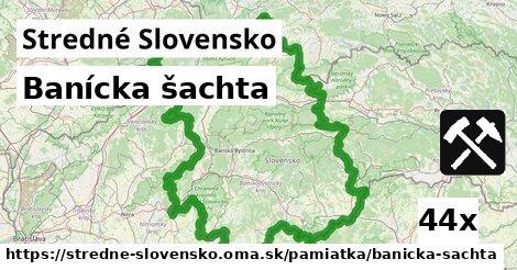 banícka šachta v Stredné Slovensko