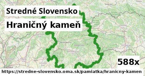 ilustračný obrázok k Hraničný kameň, Stredné Slovensko