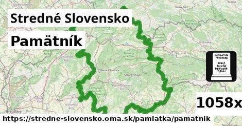 pamätník v Stredné Slovensko