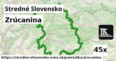 ilustračný obrázok k Zrúcanina, Stredné Slovensko