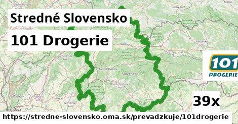 101 Drogerie v Stredné Slovensko