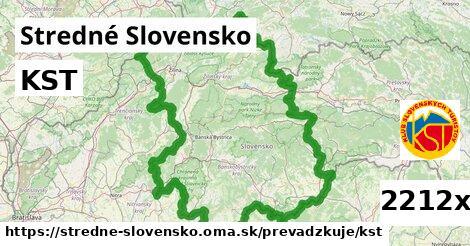 ilustračný obrázok k KST, Stredné Slovensko