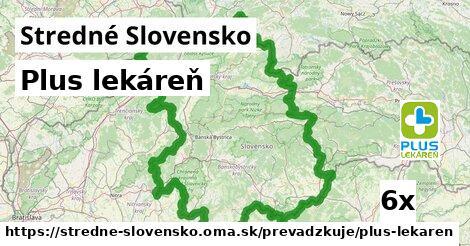 Plus lekáreň v Stredné Slovensko