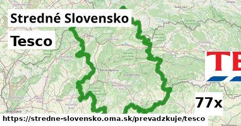 Tesco v Stredné Slovensko