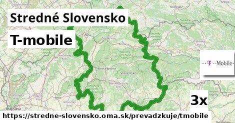 T-mobile v Stredné Slovensko