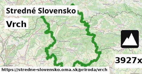 vrch v Stredné Slovensko