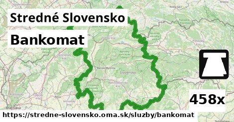 ilustračný obrázok k Bankomat, Stredné Slovensko